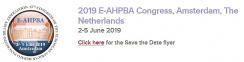 2019 E-AHPBA Annual Congress, Amsterdam, The Netherlands